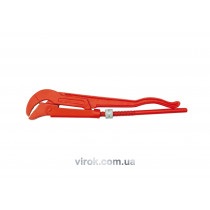 "Ключ трубний VOREL 1.5"", 45° переставний"