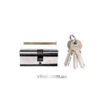 Серцевина замка асиметрична VOREL 62 мм 31/31 мм 3 ключі