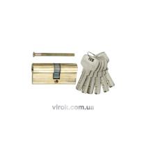 Серцевина замка асиметрична латунна VOREL 87 мм 36/51 мм 6 ключів