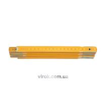 Лінійка складна дерев'яна VOREL 2000 мм