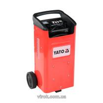 Пуско-зарядний пристрій для акумуляторів YATO, 12/24 В, 40-240 А, 20-600 Агод, 230 В
