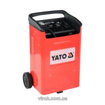 Пуско-зарядний пристрій для акумуляторів YATO, 12/24 В, 50-340 А, 20-700 Агод, 230 В