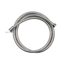 Шланг для душа з металевою гофрою VOREL, розтяжний, з нержав. сталі; G 1/2, l= 1,5- 2 м