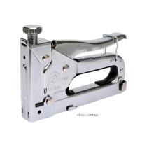 Степлер VOREL металевий з регулюванням для скоб h= 4- 14/ 11,2х 0,7 мм
