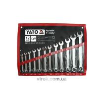 Набір ріжково-накидних ключів YATO YT-0362