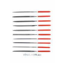 Набір надфілів YATO 140/65 х 3 мм 10 шт