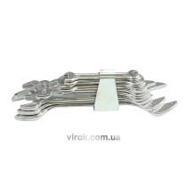 Набір ключів ріжкових VOREL М6-17 мм 6 шт