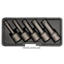 Видалювачі зломаних гвинтів YATO Ø= 8; 10; 12; 14; 16 мм, 5 шт. [20]