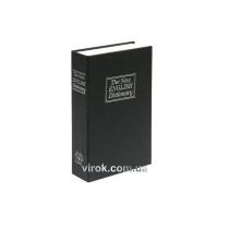 Скринька для грошей з замком чорна VOREL 180 х 115 х 55 мм 2 ключі