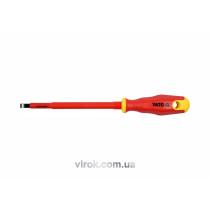 Викрутка діелектрична плоска YATO SL6.5 х 150 мм VDE до 1000 В