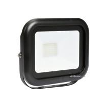 Прожектор SMD LED діодний мережевий 230 В VOREL 30 Вт 2400 lm 6000 К з кріпильною скобою