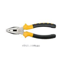 Плоскогубці універсальні VOREL з ізольованими ручками l=160 мм