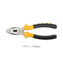 Плоскогубці універсальні VOREL з ізольованими ручками l=180 мм