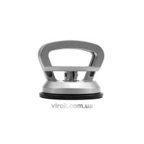 Присоска для монтажу скла одинарна VOREL, d= 115 мм, m=40kg алюмін. [50]