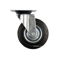 Колесо до візка Ø= 200 мм, b= 46 мм VOREL з обертовою опорою; h= 235 мм,  навантаж.- 150 кг