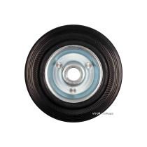 Колесо з чорної гуми VOREL; Ø= 75 мм, b= 22 мм, навантаж.- 40 кг