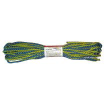 """Мотузка господарська """"Веселка"""" TM VIROK, 4мм Х 10 м, р/н=50кгс, поліпропіленова, з серцевиною"""