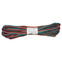 """Мотузка господарська """"Веселка"""" TM VIROK, 6мм Х 10 м, р/н=90кгс, поліпропіленова, з серцевиною"""