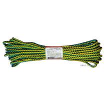 """Мотузка господарська """"Веселка"""" TM VIROK, 7мм Х 10 м, р/н=100кгс, поліпропіленова, з серцевиною"""
