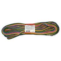 """Мотузка господарська """"Веселка"""" TM VIROK, 8мм Х 10 м, р/н=160кгс, поліпропіленова, з серцевиною"""