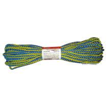 """Мотузка господарська """"Веселка"""" TM VIROK, 4мм Х 20 м, р/н=50кгс, поліпропіленова, з серцевиною"""