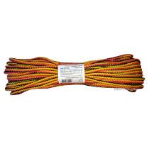 """Мотузка господарська """"Веселка"""" TM VIROK, 5мм Х 20 м, р/н=65кгс, поліпропіленова, з серцевиною"""