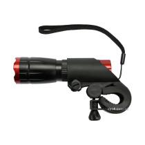 Ліхтар світлодіодний VOREL до велосипеду 3 Вт 150 lm живлення- 3 ААА батарейки