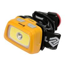 Ліхтар на чоло світлодіодний VOREL 3+3 Вт 130+120 лм 3 x ААА