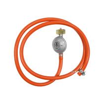 Шланг з редуктором газовий VOREL до побутових газових балонів; l= 1,5 м