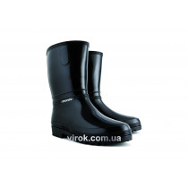 Чоботи водонепроникні гумові VOREL жіночі RAINNY BLACK, розмір 39