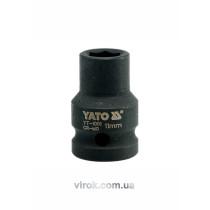 "Головка торцева ударна шестигранна YATO 1/2"" М11 х 39 мм"