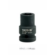 "Головка торцева ударна шестигранна YATO 1/2"" М13 х 39 мм"