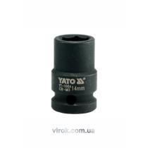 "Головка торцева ударна шестигранна YATO 1/2"" М14 х 39 мм"