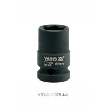 "Головка торцева ударна шестигранна YATO 1/2"" М15 х 39 мм"