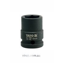 "Головка торцева ударна шестигранна YATO 1/2"" М18 х 39 мм"