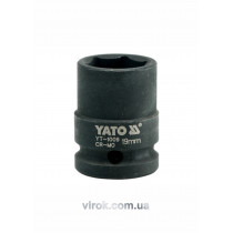 "Головка торцева ударна шестигранна YATO 1/2"" M19 х 39 мм"