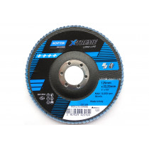 """Круг шліфувальний пелюстковий по металу і нержавіючій сталі """"NORTON VULCAN"""" X-TREME Ø=125/22 мм Р120"""