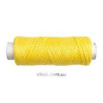 Шнур трасовочний VOREL, l=40 м, жовтий  [80]