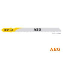 Полотно по дереву, пластику, ДСП до електролобзика AEG 75 x 2.5 мм 5 шт (4932352148)