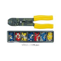 Знімач ізоляції з контактними наконечниками VOREL 100 шт