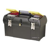 Ящик для інструменту STANLEY серія 2000 з 2 органайзерами, лотком і металевими замками 49х26х24,8 см