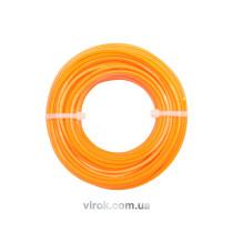 Жилка до газонокосарки кругла VOREL, d= 3 мм, l= 12 м [10/120]
