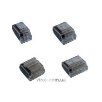 З'єднувальні затискачі (клемні), 2,5 мм 2х3 - 10 шт.
