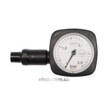 Манометр шинний VOREL круглий, 0,5-3,0 бар  [100]