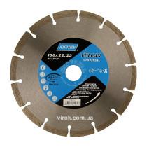 Диск алмазний VULCAN UNI сегментний Ø=180x22.23 мм