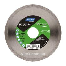 Диск алмазний VULCAN TILE по керамічній плитці Ø= 115x22.23 мм