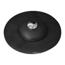 Корок для ванни силіконовий чорний FALA Ø= 100 мм