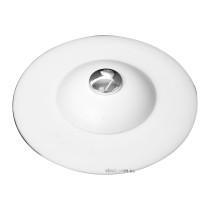 Корок для ванни силіконовий білий FALA Ø= 100 мм