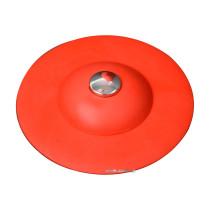 Корок для ванни силіконовий червоний FALA Ø= 100 мм