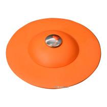 Корок для ванни силіконовий оранжевий FALA Ø= 100 мм